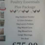 Poultry essentials plus package