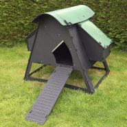 The Loft (8 chickens)  £410.00  A great looking plastic house suitable for a maximum of 8 large fowl or 15 bantams.